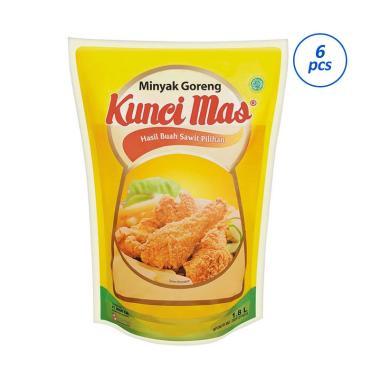 Kunci Mas Minyak Goreng Pouch [1800 mL/ 6 Pcs]