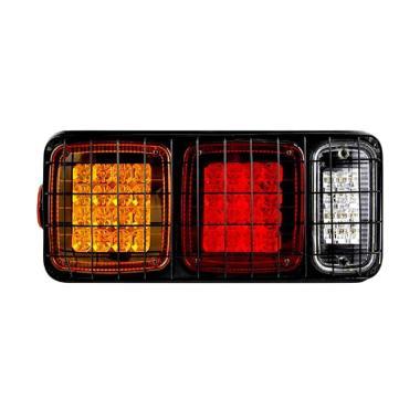 DNY LED Stop Lamp Mobil for Universal - Merah Kuning Putih [Kiri]