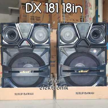 Speaker Aktif Karaoke 18 inch DAT DX181 Subwoofer Super BASS (BELUM ONGKIR)