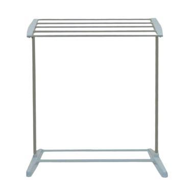 Yangunik Mobile Towel Rack Rak Jemuran Handuk - Grey