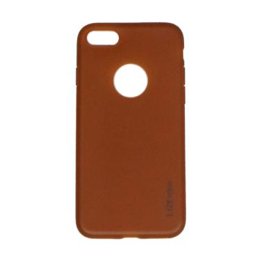 Lize Slim Case Iphone 8 Softcase Iphone 8 Casing iPhone 8 - Brown