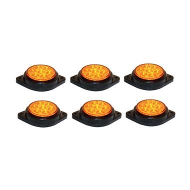 DNY 90 LED Lampu Mobil - Orange [6 pcs]