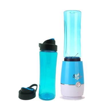 Shake 'n take Gelas 2 Tabung Blender - Biru