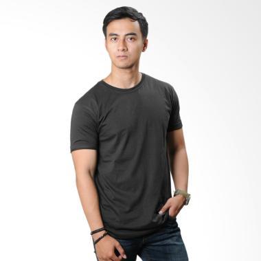 Neils Kaos Polos Bandung T-Shirt Pria - Dark Grey