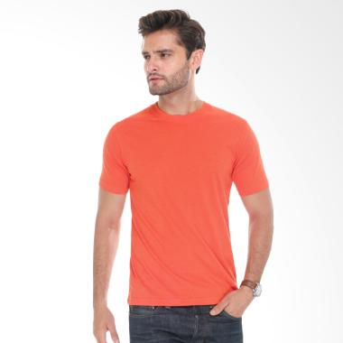 Neils Kaos Polos Bandung Pria - Orange