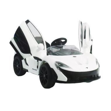 Pliko PK 3878 Mc Laren Ride On Toys Mobil Aki - White [Jabodetabek]