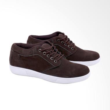 Syaqinah Sepatu Casual Pria - Coklat [123]