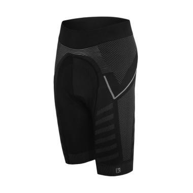 FUNKIER Velletri Seamless Tech Short Celana Sepeda  - Black-Grey