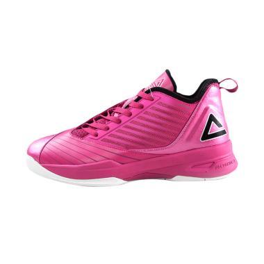 PEAK Soaring Low Series Rose Sepatu Olahraga Wanita [E51011A]