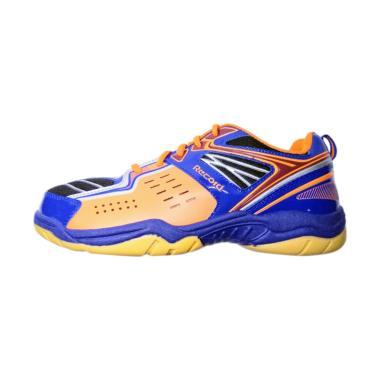 Recordshoes Flexguard Sepatu Badminton - Biru Orange