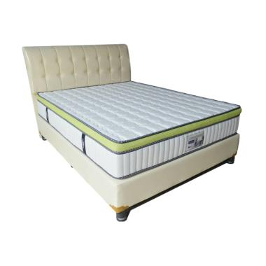Porter Latex Kasur Rebonded Ortho Touch Spring Bed [Full Set]