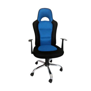 JYSK Snertinge Office Chair - Black Blue