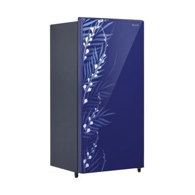 SHARP SJX185MGFB One Door Refrigerator Shine Series Kulkas