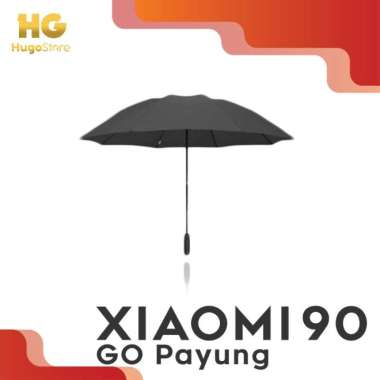 harga Promo Xiaomi 90GO Payung Auto Lipat LED Anti UV Penurun Suhu Murah Blibli.com