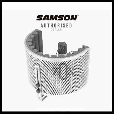 harga Vokal Vocal Booth Filter Reflection Samson RC10 Portable Blibli.com