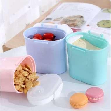 harga Jual 800ML Tempat Kotak Penyimpanan Susu Bubuk Snack Portabel Anak Bayi box Diskon Blibli.com
