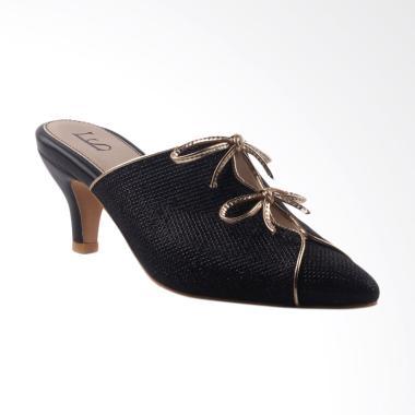 Farish Durham-F Colour Sandal Heels - Black