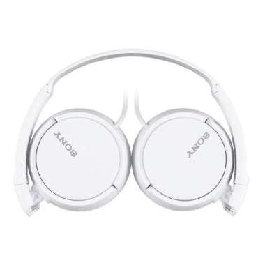 harga FREE ONGKIR SONY MDR-ZX110AP White On Ear Headphone - ZX110 - ZX-110AP - ZX110AP Blibli.com