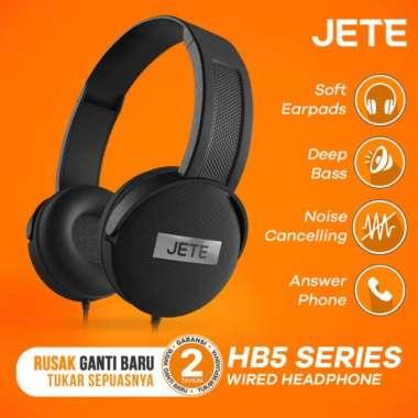harga FREE ONGKIR Headset Jete HB5 - Headphone Powerfull bass Bulit In Mic- Original - Hijau Blibli.com