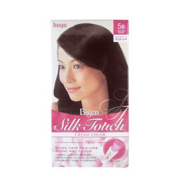 Bigen Silk Touch Hair Color Pewarna Rambut - Choco Brown 5b