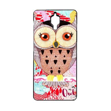 Acc Hp Abstract Owl Drawing E0264 Custom Casing for Xiaomi Mi4