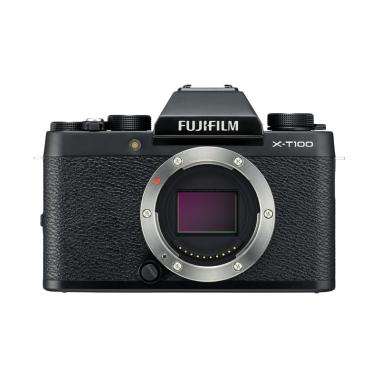 harga Fujifilm X-T100 Kamera Mirrorless [Body Only] . XT100 . X T100 . XT 100 + Sandisk Sd 16 gb + Sandisk SD Extreme 32Gb Blibli.com