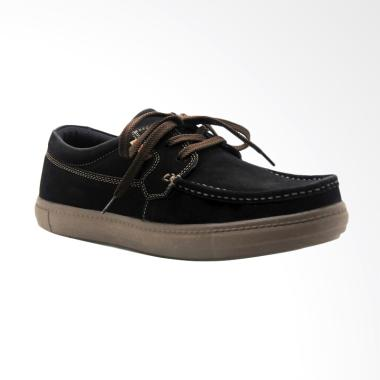 Mascotte Sepatu Pria - Hitam [M93 024]