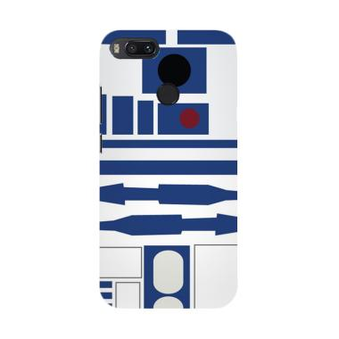 Acc Hp Blue R2d2 Star Wars E0287 Custom Casing for Xiaomi Mi A1