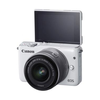 Canon EOS M10 15-45mm IS STM Kamera Mirrorless - White