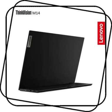 harga Diskon Lenovo Thinkvision M14 Monitor - 14 Inch Fhd Ips 300 Nits Usb-C 3Yr Blibli.com