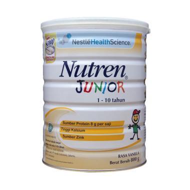 Nestle Nutren Junior Prebio Bubuk Vanila Kaleng Susu Formula [800 g]