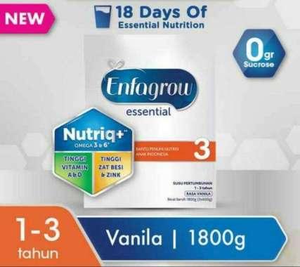 Enfagrow essential 3 vanila 1800gr