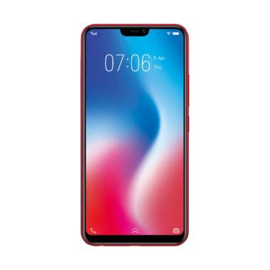 VIVO V9 Smartphone - Black [64GB/ 6GB]