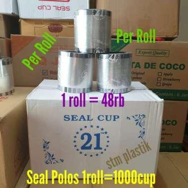 harga Seal polos-plastik bening roll cup sealer-tutup gelas transparan Multicolour Blibli.com