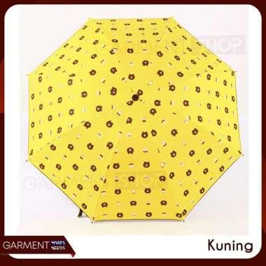 harga [COD] Payung Lipat 3D Motif Beruang Premium Bagus Lucu Karakter Murah KUNING Blibli.com
