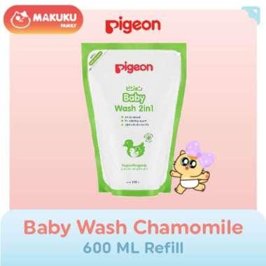 harga Pigeon Baby Liquid Soap Chamomile 350 Ml Refill / Sabun dan Shampo Bayi Cair Kulit Sensitif Anti Iritasi Blibli.com