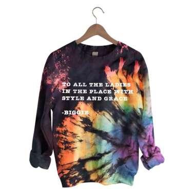 harga Women Halloween Print Sweatshirt Pullover Long Sleeve Top Blouse TO ALL XL TO ALL XL Blibli.com
