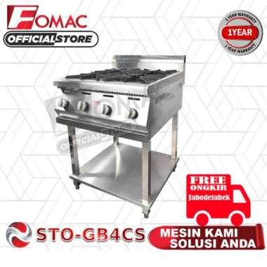harga Mesin Gas Burner Kompor 4 Tungku STO-GB4CS FOMAC Blibli.com