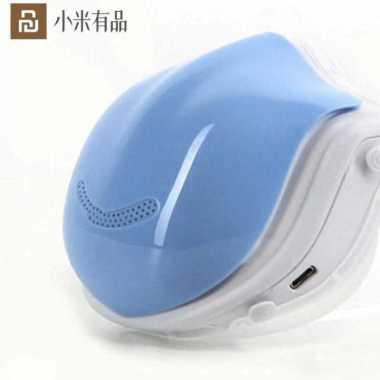 harga PUNDUN Masker Udara Electric Mask HEPA Filter USB Rechargeable - Q5 Pro Biru Blibli.com