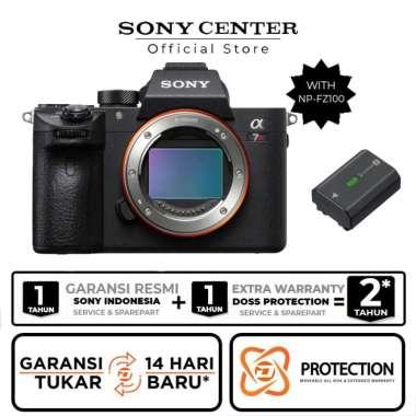 harga SONY CENTER Sony Alpha a7RIIIA Mirrorless Digital Camera Body Only + FZ100 Blibli.com