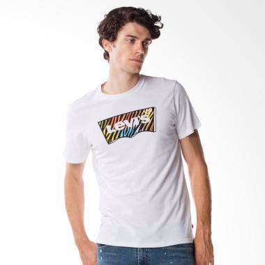 Levi's Housemark Tee Good Ssnl Fill Hm T-shirt Pria  [22489-0102]