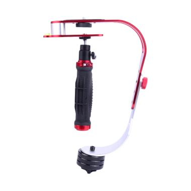 Mine Handheld Stabilizer Kamera for DSLR/GoPro/Xiaomi Yi - Red