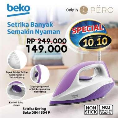 harga PERO X BEKO - SETRIKA NON STICK 400W Blibli.com