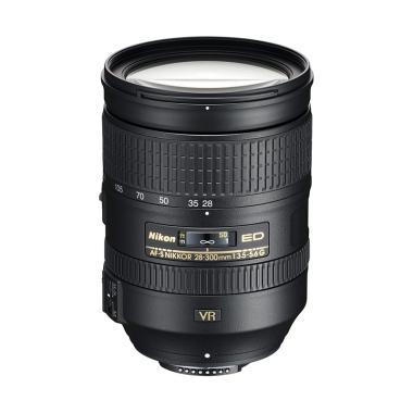 Nikon AFS 28-300mm f/3.5-5.6 G ED VR Lensa Kamera - Ladang