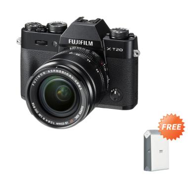 Fujifilm X-T20 Kit Lens XF 18-55mm  ... -2 + FREE SIRUI SLING BAG