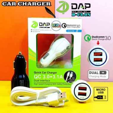 Dijual Car Charger DAP Qualcomm D-C3.0N Berkualitas
