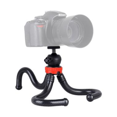 Third Party Clevertech Octopus Flexible Tripod - Red Black