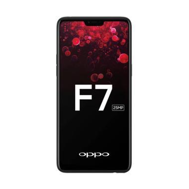 Oppo F7 Smartphone - Black [4GB/ 64GB]