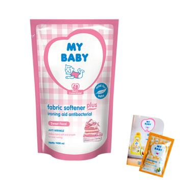 My Baby Fabric Softener Plus Ironin ... mL] + Free Shampoo Sachet