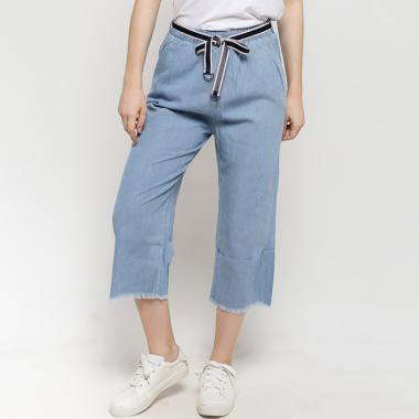 BLYTHE C27-023 Denim Long Pants With Belt Celana ... 63334ad101